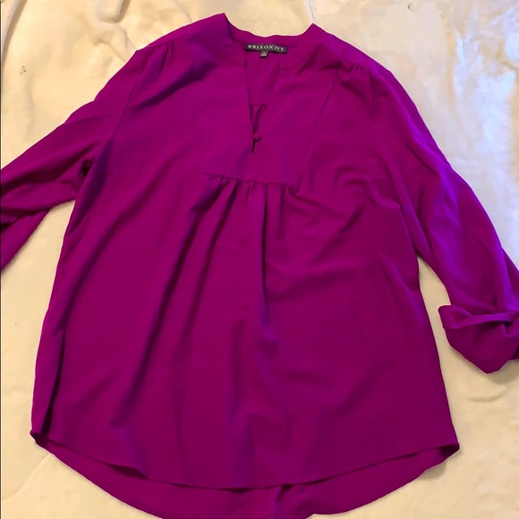 Brixton Ivy purple blouse